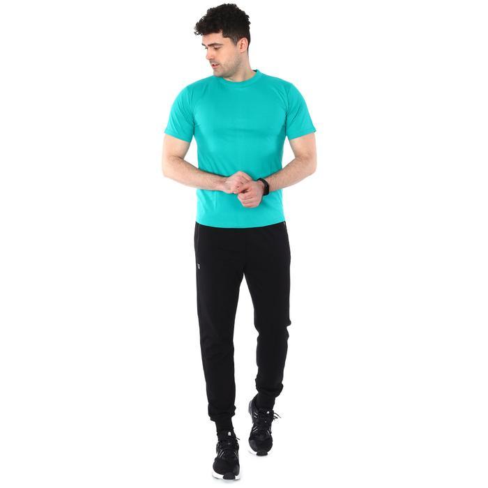 Basic Erkek Mavi Günlük Stil Tişört 060020021Y03 104464