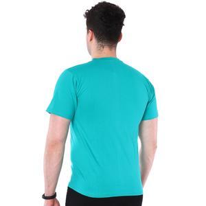 Basic Erkek Mavi Günlük Stil Tişört 060020021Y04