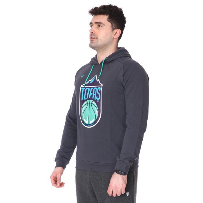 Tofaş 3 İplik Unisex Lacivert Basketbol Sweatshirt TKT100112-ANT 1227466