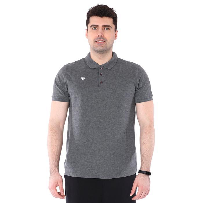 Erkek Gri Polo Yaka Günlük Stil Tişört TKU100107-GRI 1227607