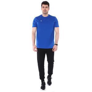 Spt Basic Tişört Erkek Mavi Basketbol Tişört TKU100109-MAV