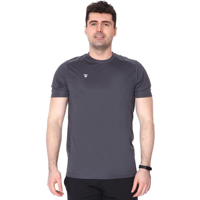 Erkek Gri Basic Antrenman Tişörtü TKY100112-ANT 1235343