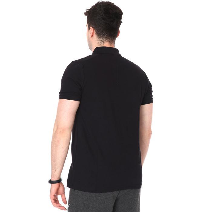 Erkek Siyah Polo Yaka Günlük Stil Tişört TKU100107-SYH 1227611