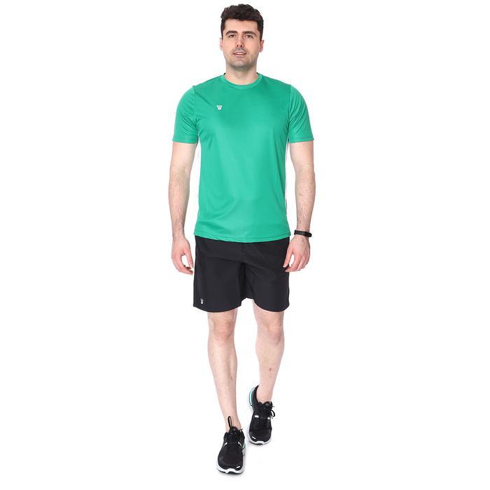 Poly Basic Erkek Yeşil Antrenman Tişörtü TKY100133-YSL 1235470