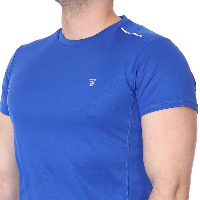 Spo-Fortunato Erkek Mavi Günlük Stil Tişört 710301-0SX-SP 1278596