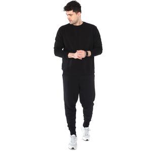 Spo-Oversweat Erkek Siyah Günlük Stil Sweatshirt 711238-SYH-R