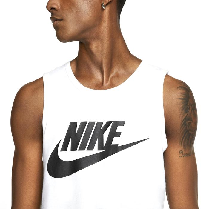 Tank icon Futura Erkek Beyaz Antrenman Atleti AR4991-101 1191715
