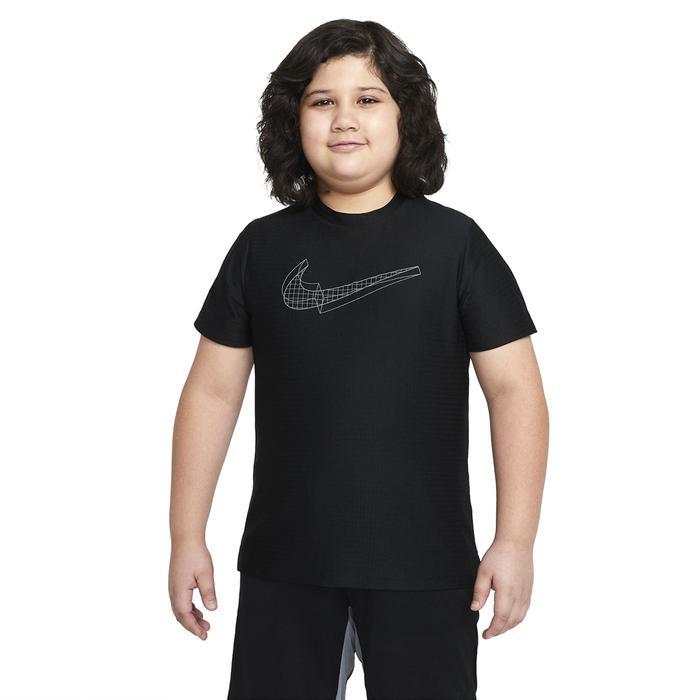 B Nk Brthe Gfx Ss Top Çocuk Siyah Günlük Stil Tişört DA0244-010 1286220