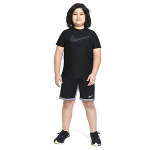 B Nk Brthe Gfx Ss Top Çocuk Siyah Günlük Stil Tişört DA0244-010