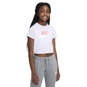 G Nsw Tee Crop Futura Çocuk Mor Günlük Stil Tişört DA6925-530