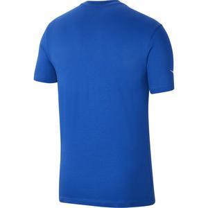 M Nk Park20 Ss Tee Erkek Mavi Futbol Tişört CZ0881-463
