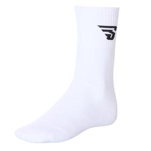 Topuksuz Kisa Unisex Beyaz Tenis Çorabı 17007-BY