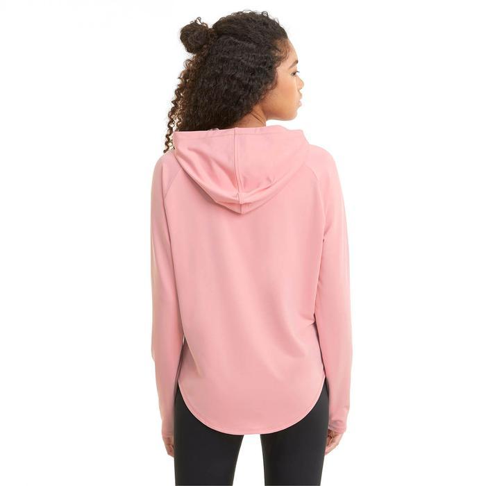 Active Hoodie Kadın Pembe Günlük Stil Sweatshirt 58685880 1218205
