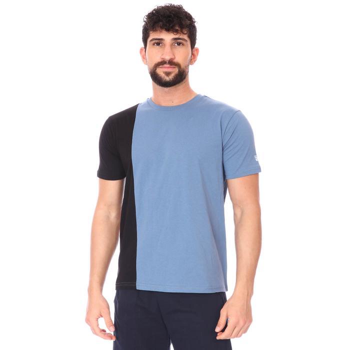 2 Colored Tee Erkek Lacivert Günlük Stil Tişört 712201-Lcv 1280566