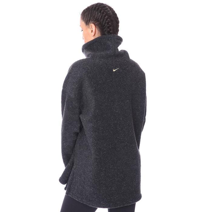 W Nk Thrma Cozy Cowl Kadın Siyah Antrenman Uzun Kollu Tişört CU6778-010 1233808