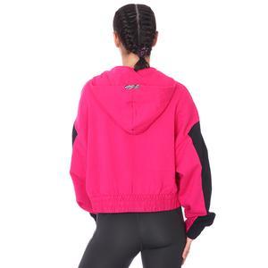 W Nsw Icn Clsh Hoodie Qz Mix Kadın Pembe Günlük Stil Sweatshirt CZ8164-615