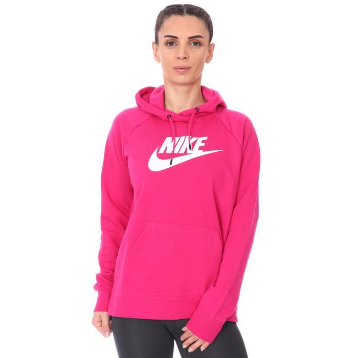 W Nsw Essntl Flc Gx Kadın Pembe Günlük Sweatshirt BV4126-617 1274242