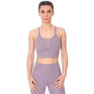 W Nk Dry Crp Lacing Top Lux Kadın Mor Antrenman Atlet DA0362-531
