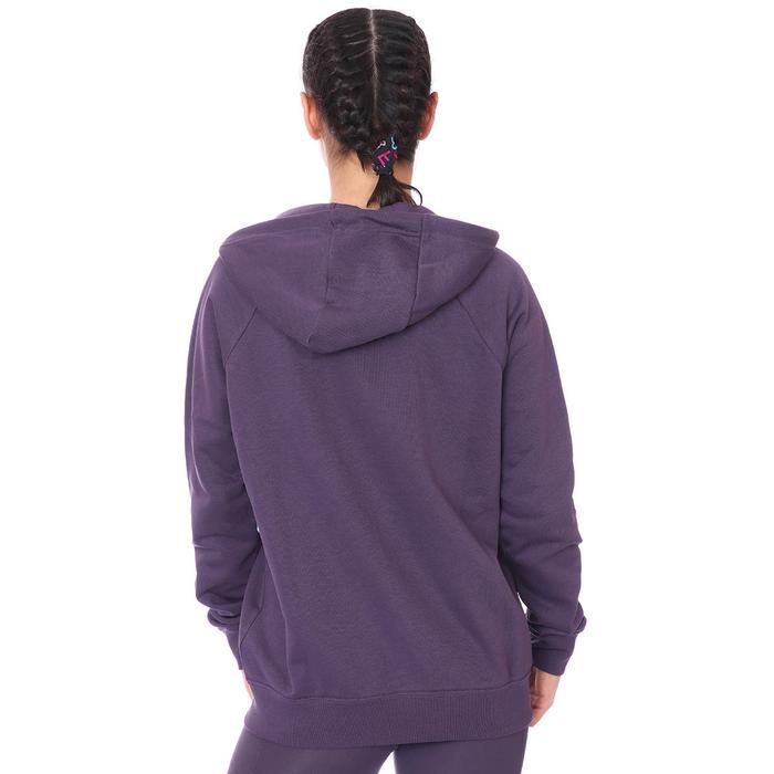 W Nsw Essntl Flc Fz Hoodie Kadın Mor Günlük Stil Sweatshirt BV4122-574 1273484