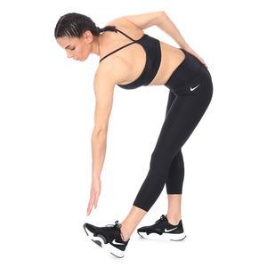 W Nk Df Fast Crop Kadın Siyah Koşu Tayt CZ9238-010