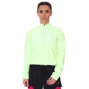 W Nk Run Dvn Top Mid Kadın Sarı Koşu Uzun Kollu Tişört DC8033-701