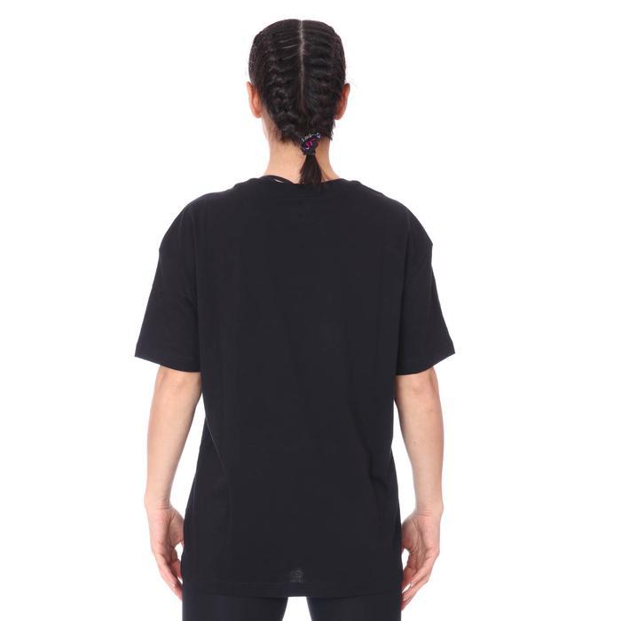 W Nsw Tee Boy Love Kadın Siyah Günlük Stil Tişört DB9817-010 1274737