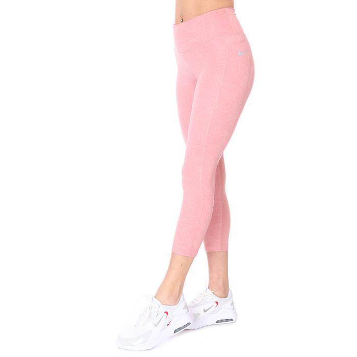 W Nk Run Dvn Fast Crop Kadın Pembe Koşu Tayt DA1250-685 1285508