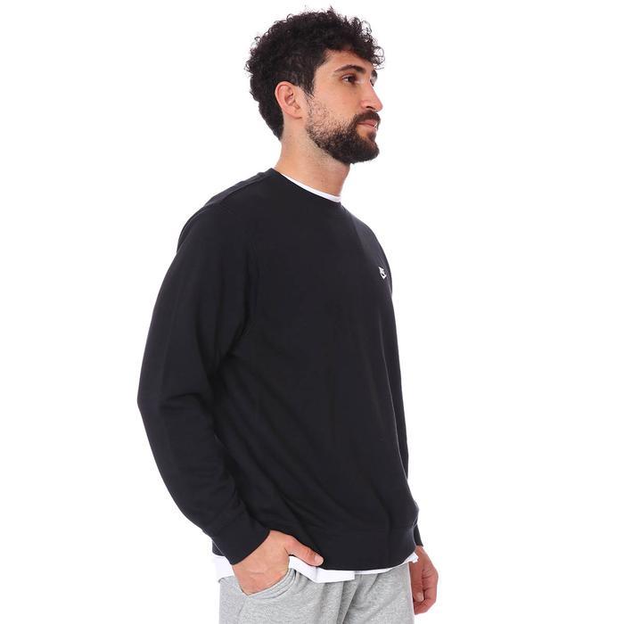 M Nsw Club Crw Ft Erkek Siyah Günlük Stil Sweatshirt BV2666-010 1109235
