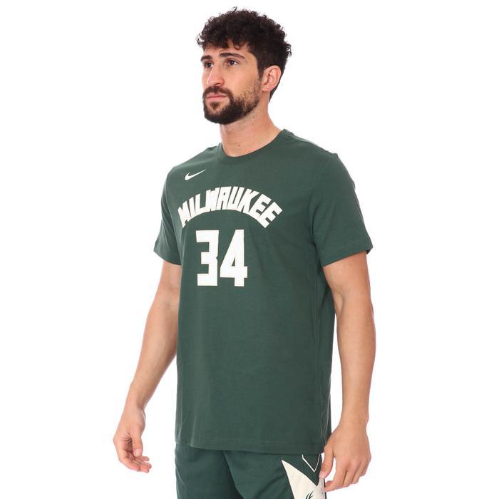 Milwaukee Bucks Earned Edition NBA Tee Es Nn Erkek Yeşil Basketbol Tişört CV8534-326 1274935