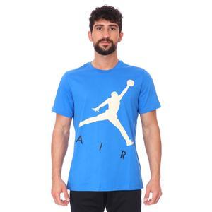 Air Jordan NBA Jumpman Air Hbr Ss Crew Erkek Mavi Basketbol Tişört CV3425-403
