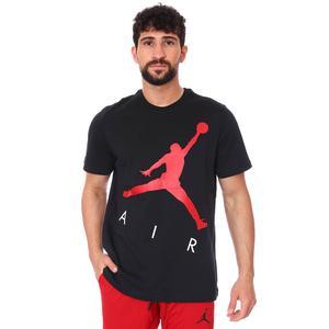 Air Jordan NBA Jumpman Air Hbr Ss Crew Erkek Siyah Basketbol Tişört CV3425-010
