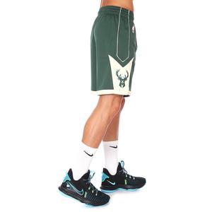 NBA Milwaukee Bucks Erkek Yeşil Basketbol Şort AJ5623-323