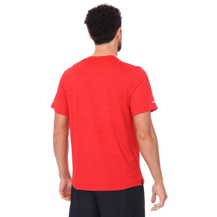 M Nk Df Miler Top Ss Erkek Kırmızı Koşu Tişört CU5992-657 1273626