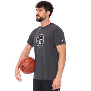 Brooklyn Nets NBA Erkek Siyah Basketbol Tişört CZ7236-060
