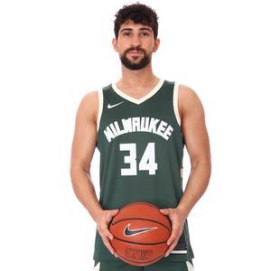 Milwaukee NBA Icon 20 Erkek Yeşil Basketbol Atlet CW3672-329