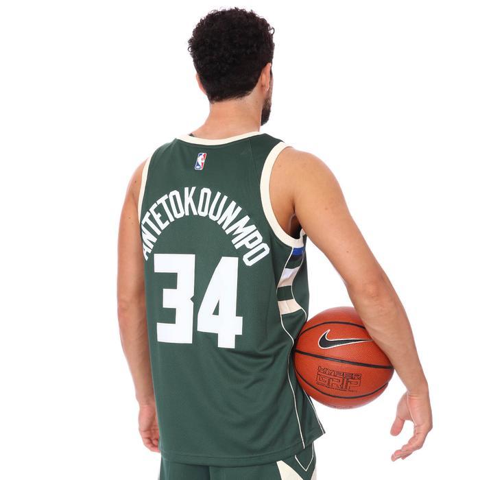 Milwaukee NBA Icon 20 Erkek Yeşil Basketbol Atlet CW3672-329 1274948
