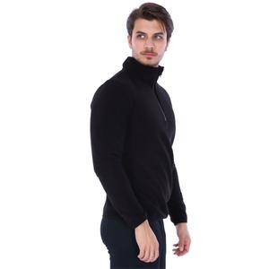 Spo-Polarhalfman Erkek Siyah Günlük Stil Polar 710078-00B-SP