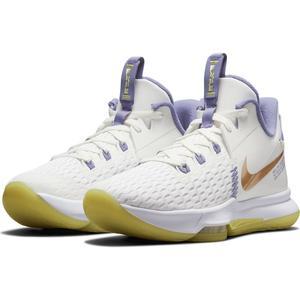 Lebron Witness V NBA Unisex Beyaz Basketbol Ayakkabısı CQ9380-102