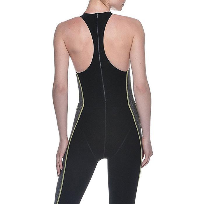 Woman Short Leg Suit X-Treme Kadın Siyah Profesyonel Yarış Mayosu 2514450 207023