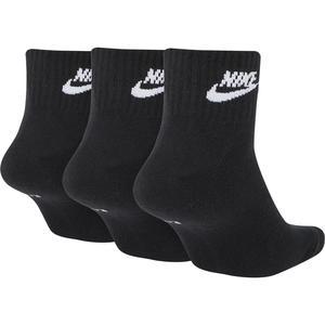Nsw Evry Essential Ankle Unisex Siyah Günlük Stil Çorap SK0110-010