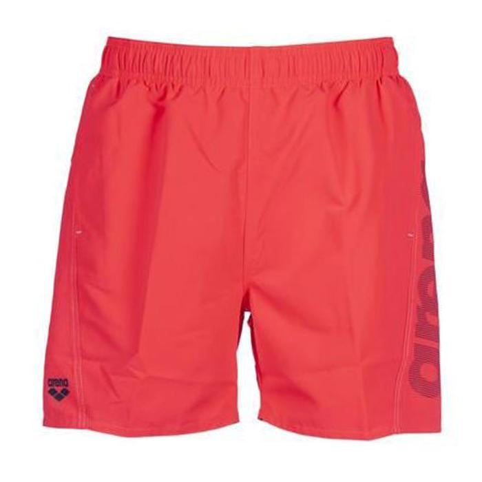 Fundamentals Logo Boxer Erkek Kırmızı Yüzücü Mayosu 1B344470 1147351
