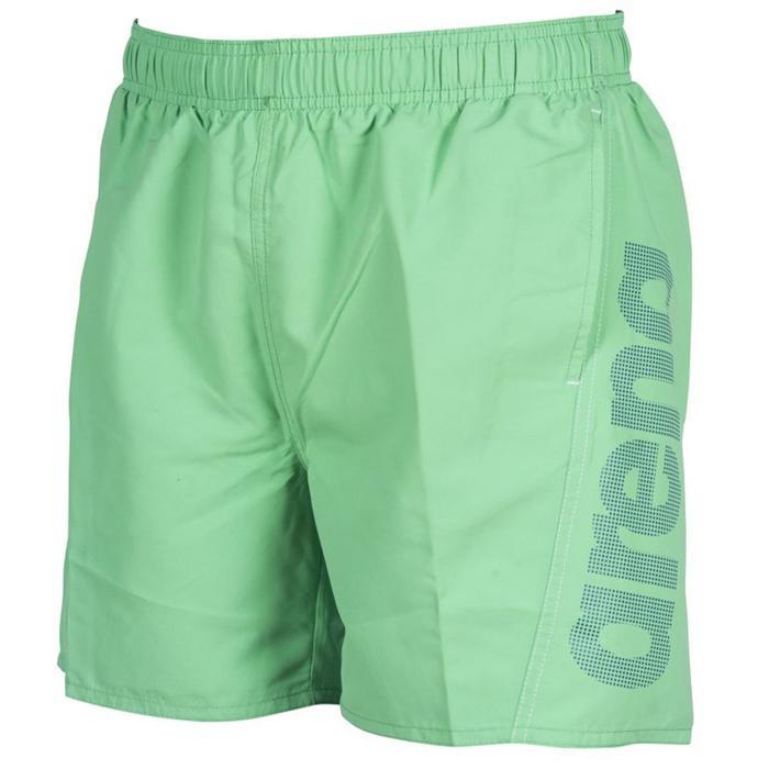 Fundamentals Logo Boxer Erkek Yeşil Yüzücü Mayosu 1B344670 1147355