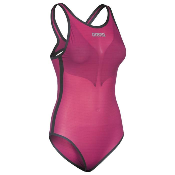 W Pwskin Carbon Duo Top Kadın Çok Renkli Yüzücü Yarış Mayosu 002757465 1157098