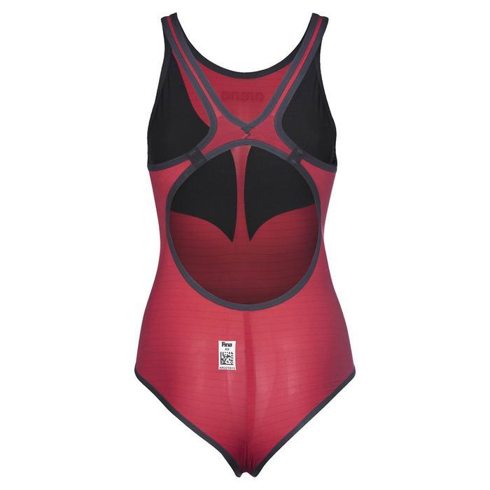 W Pwskin Carbon Duo Top Kadın Çok Renkli Yüzücü Yarış Mayosu 002757450 1157094