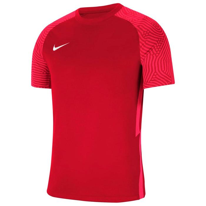M Nk Df Strke II Jsy Ss Erkek Kırmızı Futbol Tişört CW3544-677 1286034