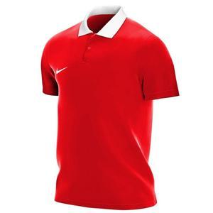M Nk Df Park20 Polo Ss Erkek Kırmızı Futbol Polo Tişört CW6933-657