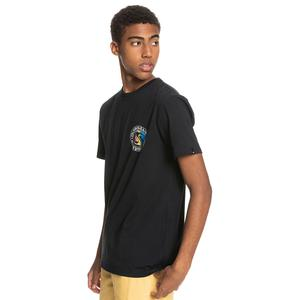 Mellow Phonic Ss Erkek Siyah Günlük Stil Tişört EQYZT06319-KVJ0