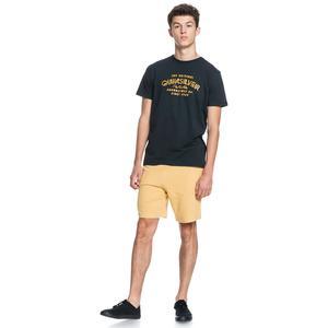 Wider Mile Ss Erkek Siyah Günlük Stil Tişört EQYZT06328-KVJ0