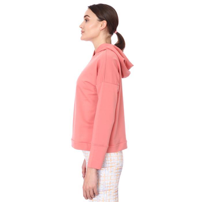 Spo-Firbolcropnewtop Kadın Pembe Günlük Stil Sweatshirt 712106-PMB 1280755