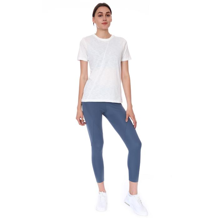 Spo-Assymetric Tee Kadın Beyaz Günlük Stil Tişört 712107-BYZ 1280771